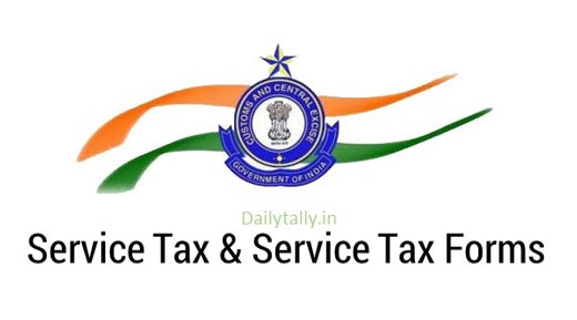 What is Service Tax and Service Tax Forms
