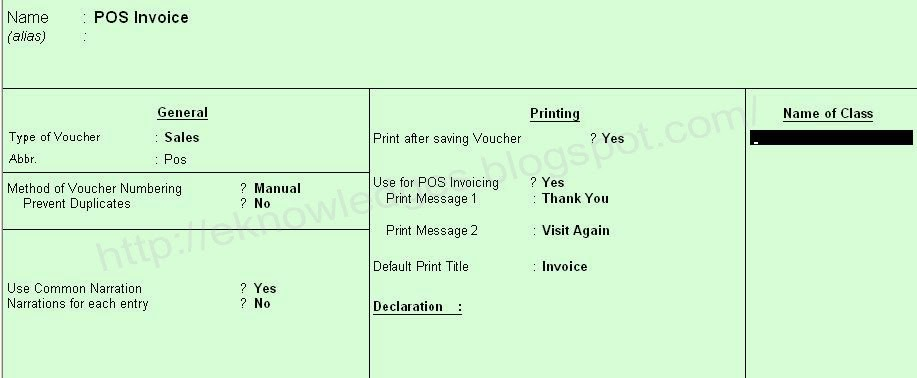 Creating A Voucher Creating Excise Voucher Types Excise for – Make Voucher