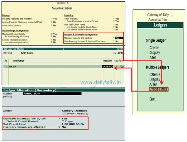Credit-Limit-in-Tally ERP9