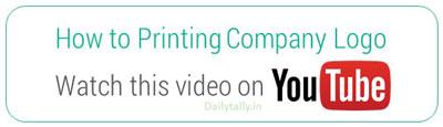 How to Printing Company Logo