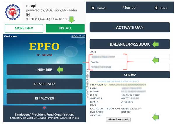 Easy Guide How to check EPF Balance on Android phone