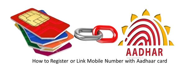 How to Register or Link Mobile Number with Aadhaar card