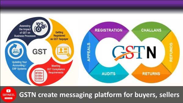GSTN create messaging platform for buyers, sellers