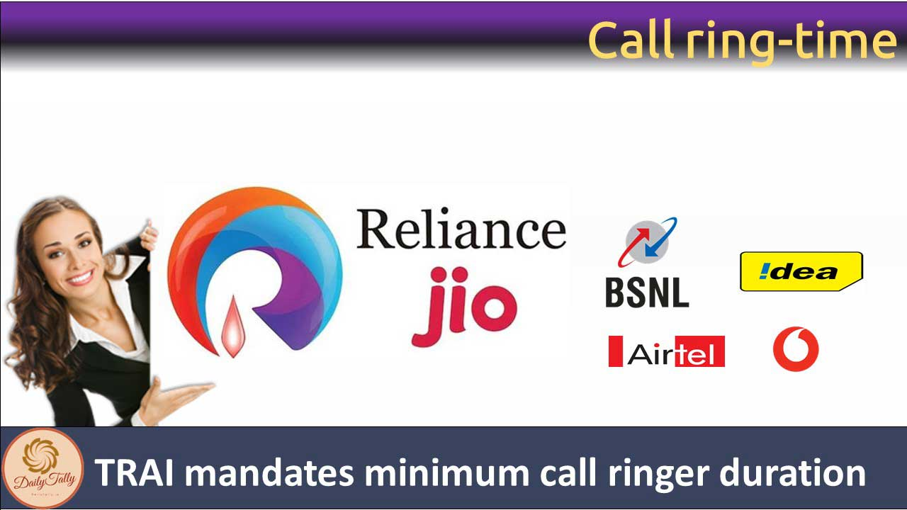 Call ring-time Trai mandates minimum call ringer duration